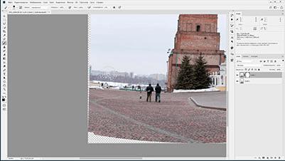 Урок 3. Удаление лишнего объекта при использовании 2 фото