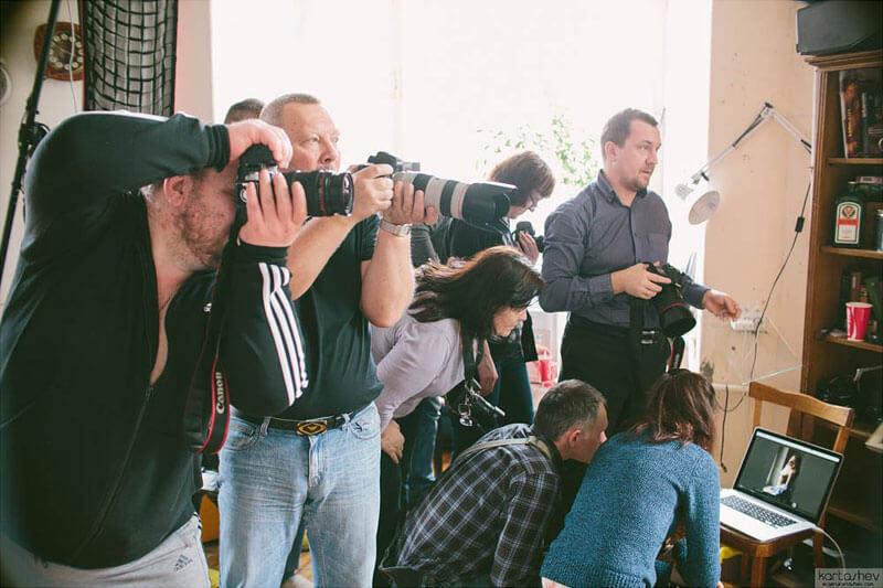 Обучение профессиональной обработки фотографий фото групы 6