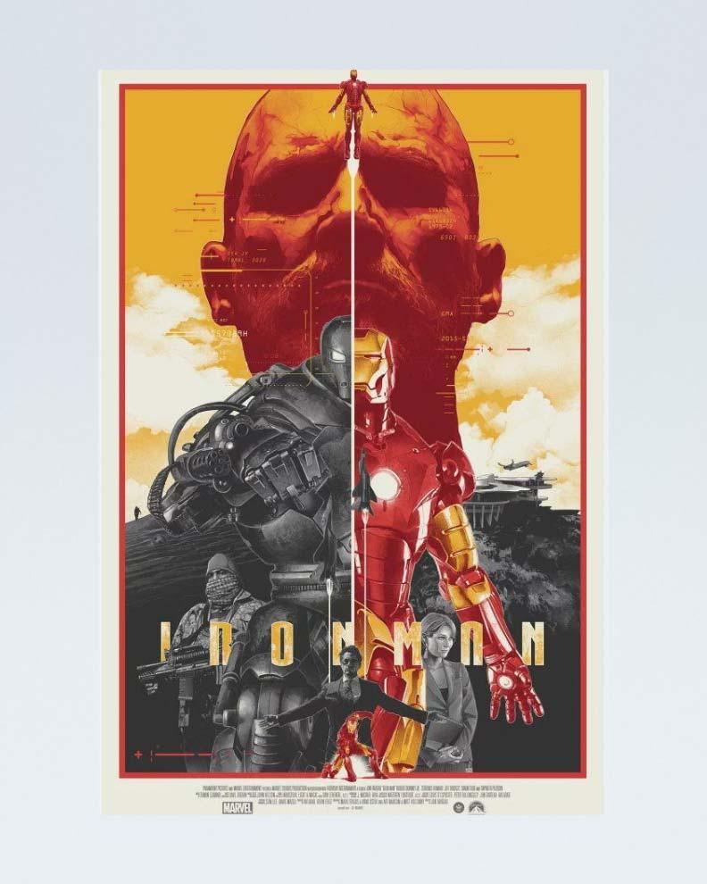 """""""Iron Man"""" (Дизайн постера для фильма Marvel)"""