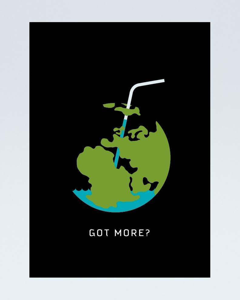 """""""Got More?"""" (Дизайн социального постера)"""