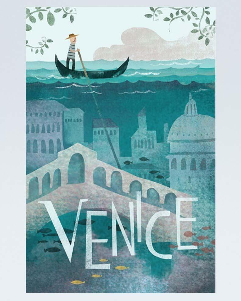 """Venice"" (Дизайн travel-постера)"