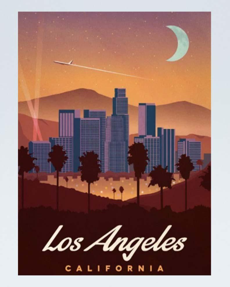 """""""Vintage Travel Poster"""" (Дизайн винтажного постера)"""