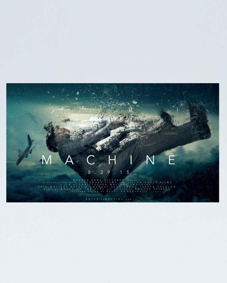 """""""Machine"""" (Дизайн постера для фильма)"""