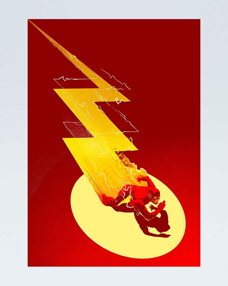 """""""More than Men"""" (дизайн супергеройского постера)"""