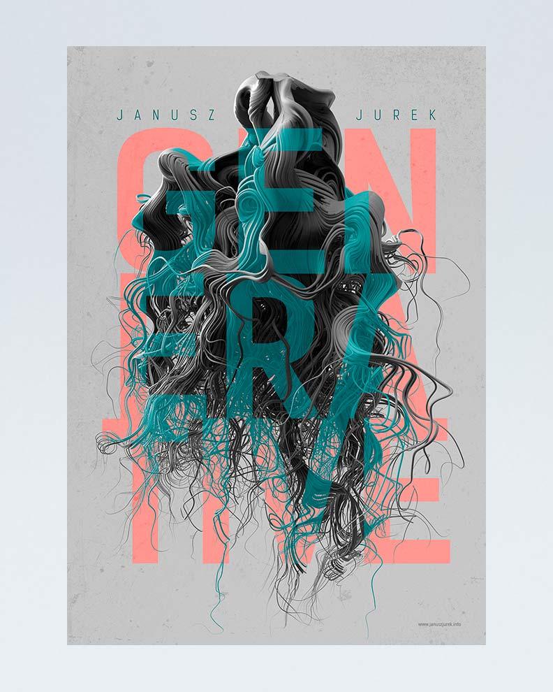 """""""Generative"""" (Дизайн плаката)"""