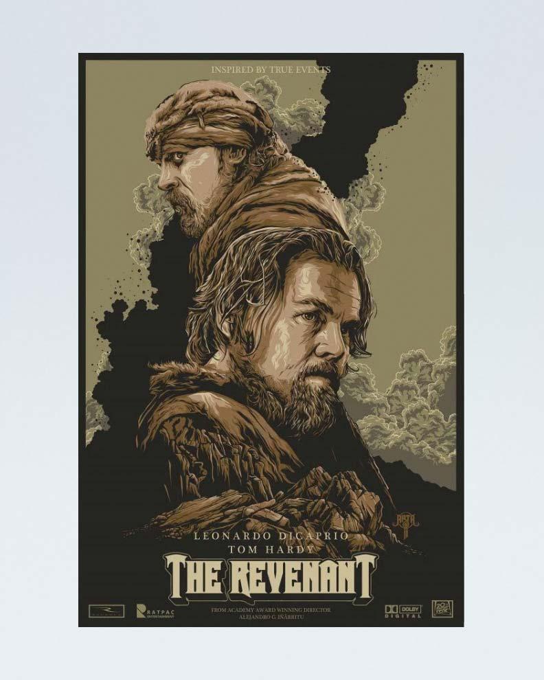 """""""The Revenant"""" (Дизайн постера для фильма)"""