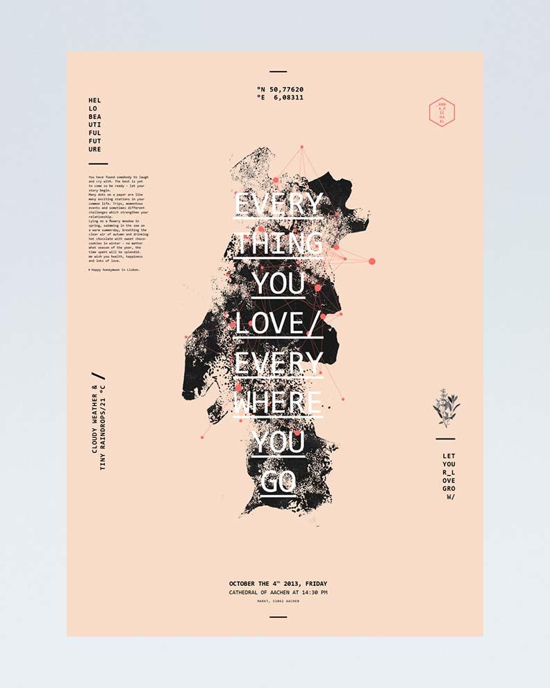 """""""Everything You Love"""" (Дизайн свадебного приглашения)"""