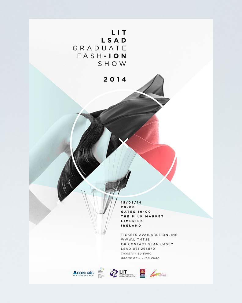 """""""LIT LSAD"""" (Дизайн постера для художественной выставки)"""