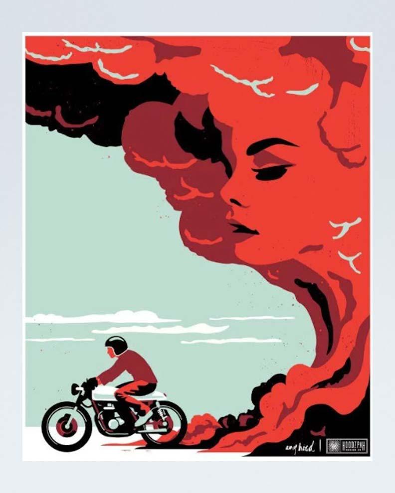 """The Road Beckons"" (Дизайн постера)"
