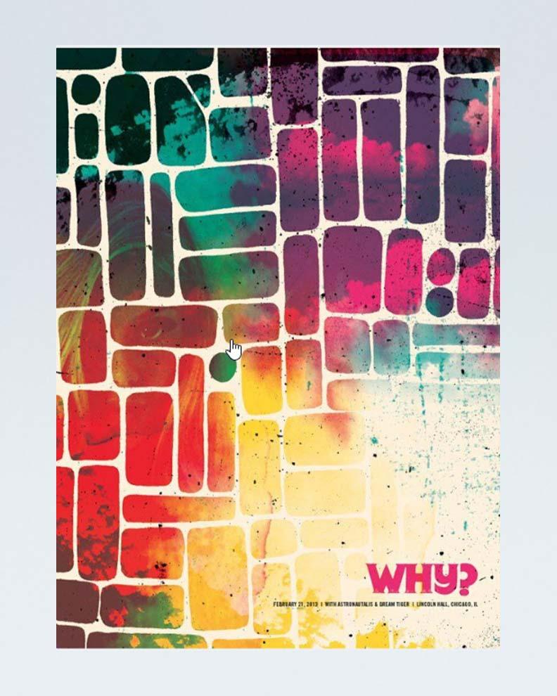 """""""Why"""" (Дизайн рекламного плаката)"""
