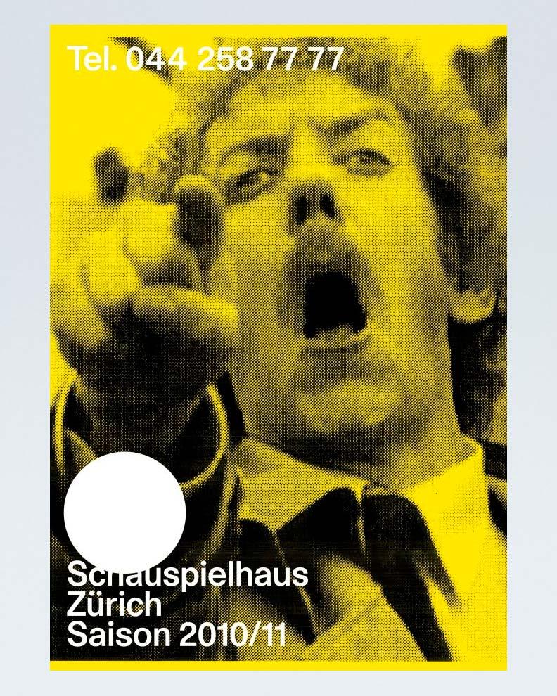 """""""Schauspielhaus Zürich"""" (Дизайн плаката)"""