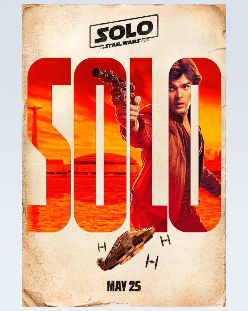 """Solo:A Star Wars Story"" (Дизайн постера для Звездных Войн)"