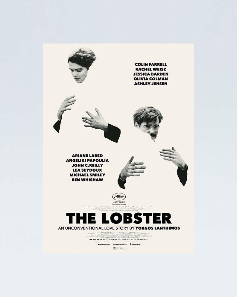 """""""The Lobster"""" (Дизайн постера для драматического фильма)"""
