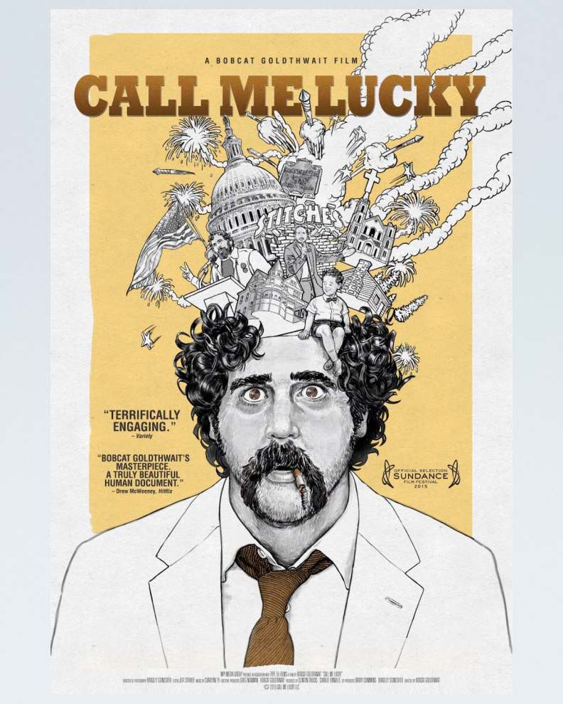 """Call Me Lucky"" (Дизайн плаката для фильма)"