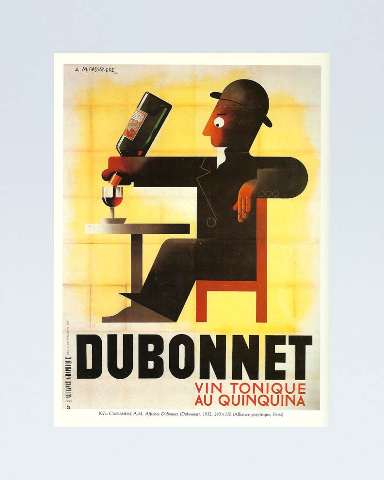 """""""Dubonnet"""" (Дизайн рекламного плаката)"""