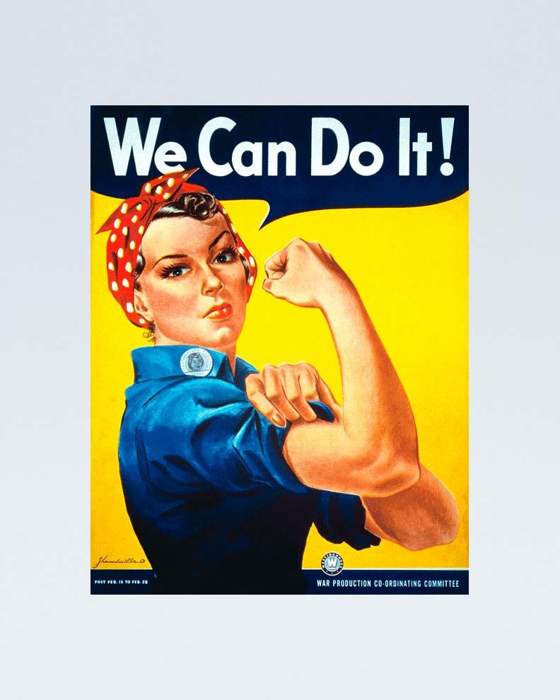 """""""WeCan Do It!"""" (Дизайн пропагандистского постера)"""