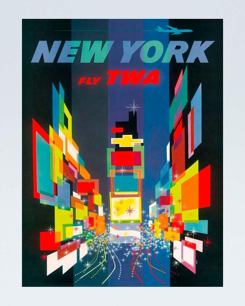 """""""TWA"""" (Дизайн рекламного плаката)"""