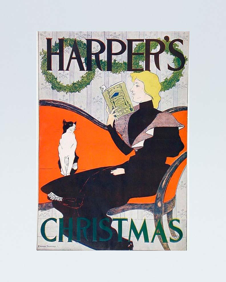 """""""Harper's"""" (Дизайн плаката)"""