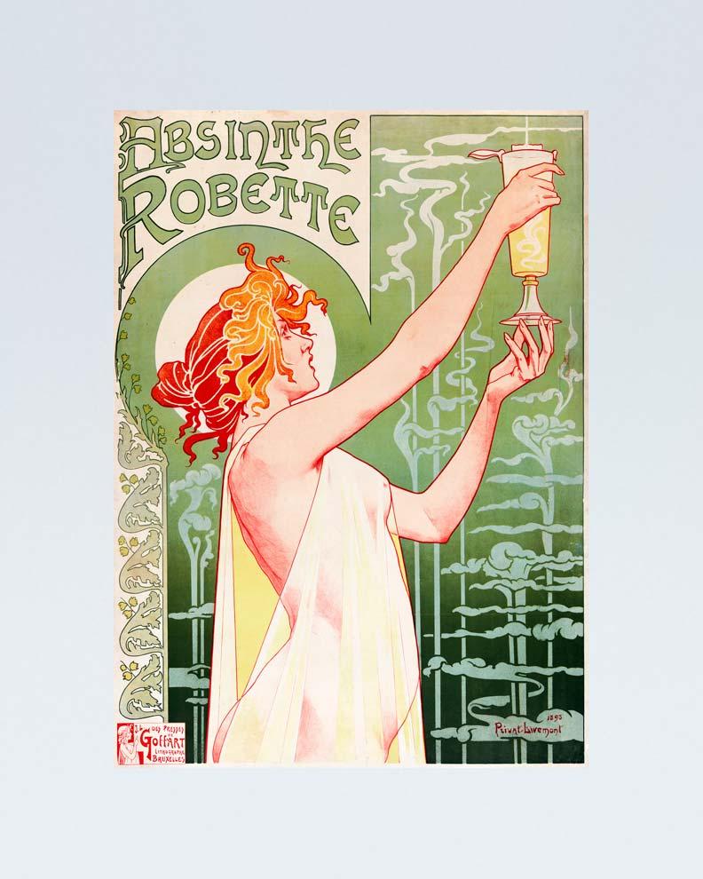 """Absinthe Robette"" (Дизайн рекламного постера)"