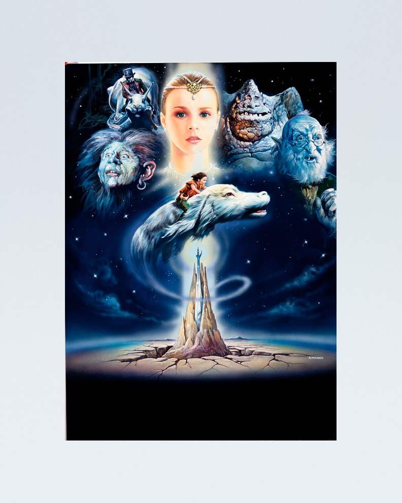 """""""The NeverEnding Story"""" (Дизайн постера для фантастического фильма)"""
