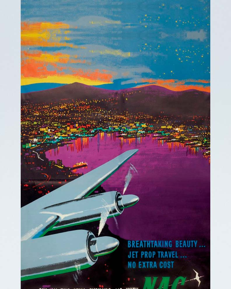 """""""Air New Zealand"""" (Дизайн рекламного постера)"""