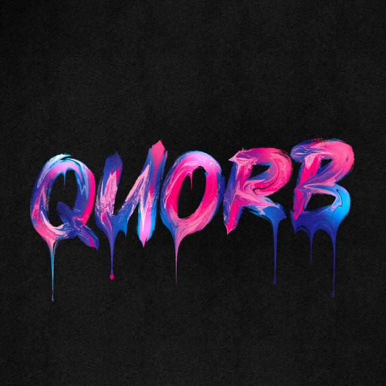 Типография яркими красками QUORB