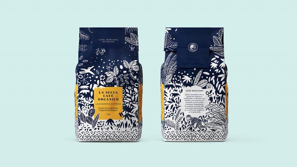 Альтернативное искусство в дизайне упаковки кофе