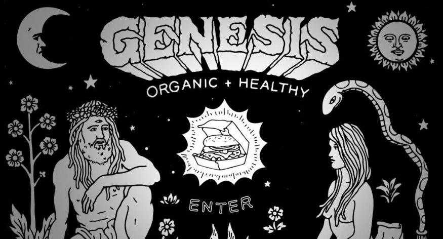 Сайт органики и здоровья с дудлами