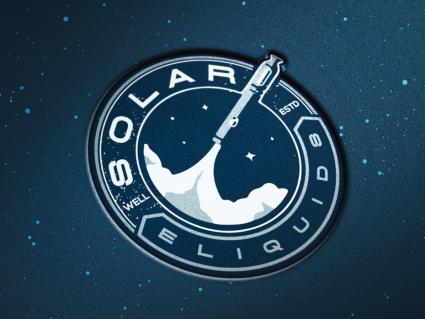 Логотип для коспического проекта