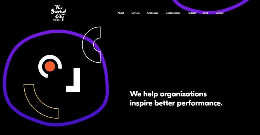 Альтернативное искусство в дизайне сайта