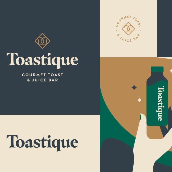 Необычный дизайн брендинга ресторана
