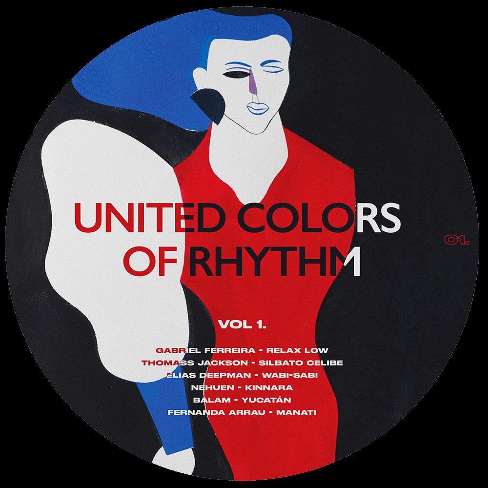 United colors of rhythm - диск с дудлом