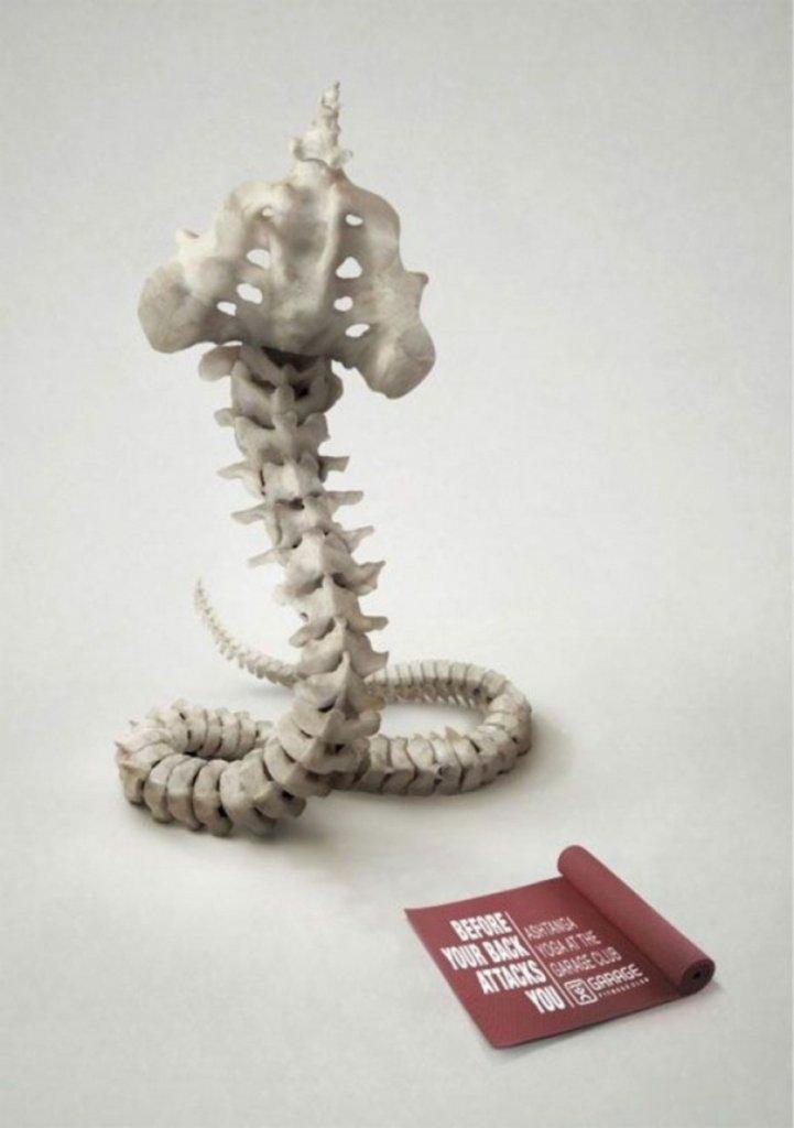 Шедевры рекламы - Йога для вашей спины