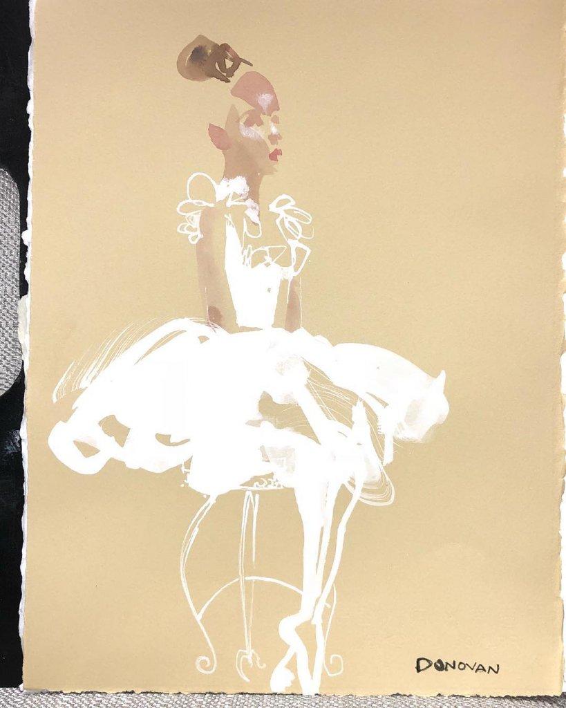 @bildonovan - Sometime Ballerinas show up