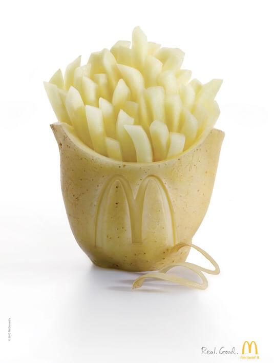 Шедевры рекламы - McDonald's