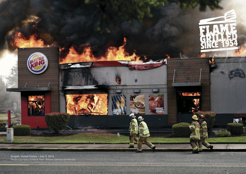 Шедевры рекламы - В пламени копченный