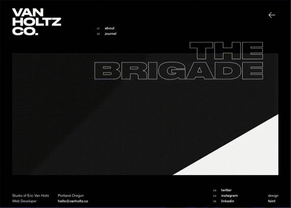 Веб-сайт Van Holtz Co