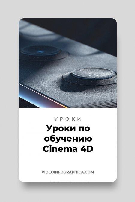 45+ уроков по обучению Cinema 4D (для начинающих и про)