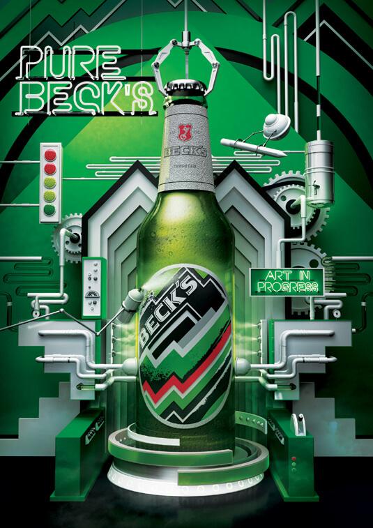 Шедевры рекламы - Beck's: Создание в Процессе