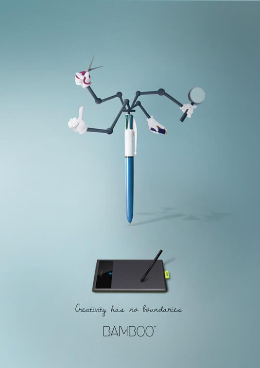 Шедевры рекламы - Wacom Bamboo