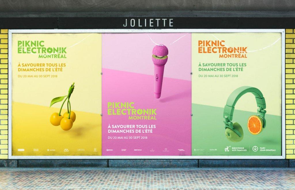 Шедевры рекламы - Пикник Électronik