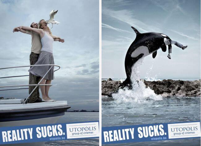 Шедевры рекламы - Utopolis cinemas