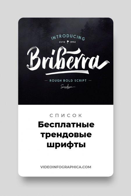 57 трендовых бесплатных шрифтов для типографики в 2020