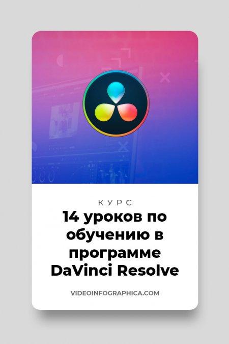 «Супер DaVinci Resolve» – 14 уроков по обучению в программе DaVinci Resolve