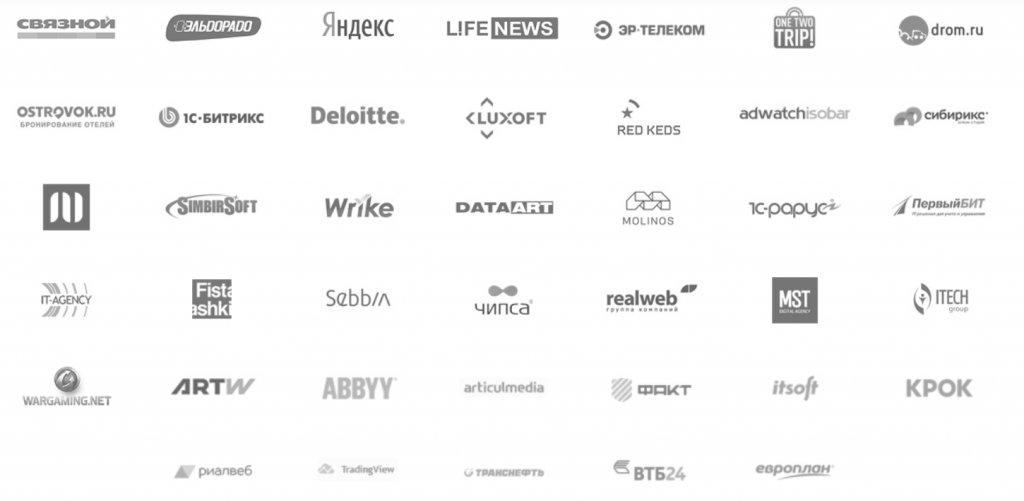 курс прошли дизайнеры из этих компаний