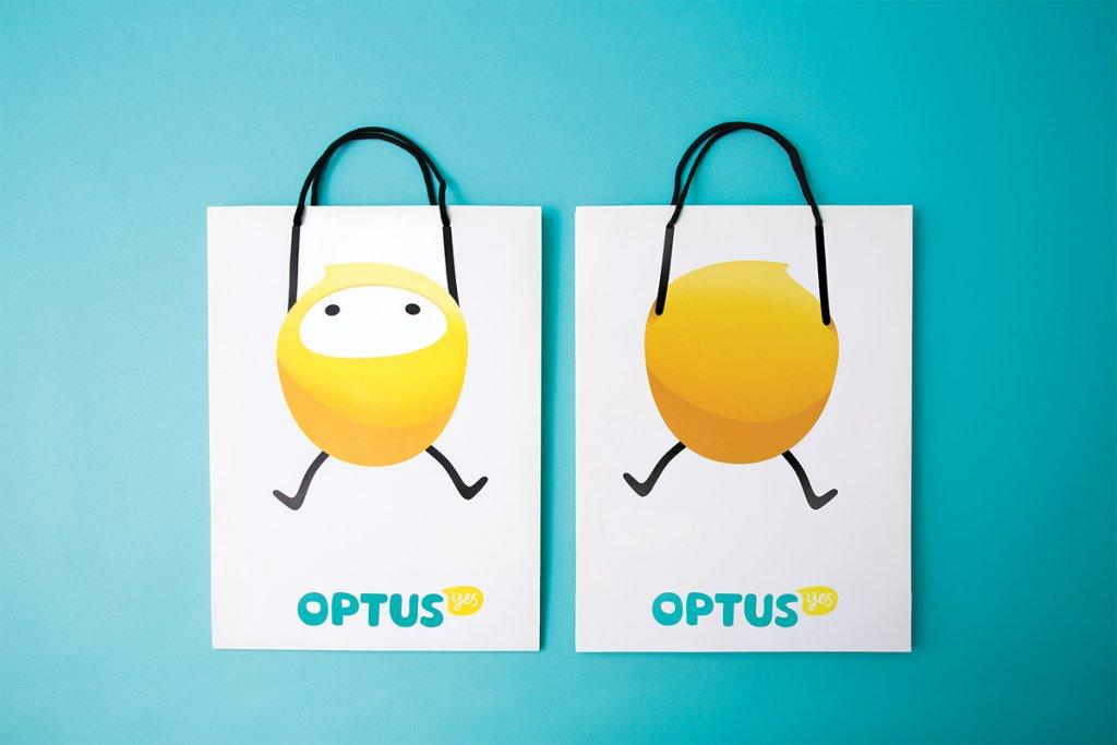 Дизайн пакетов Optus