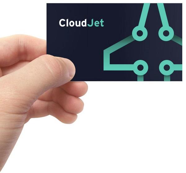 Визитка Cloud Jet