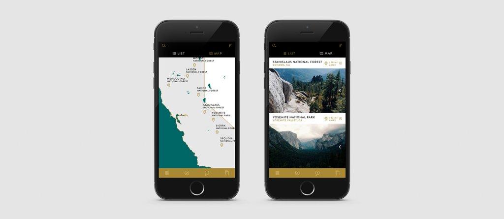 Дизайн мобильного приложения Frontier