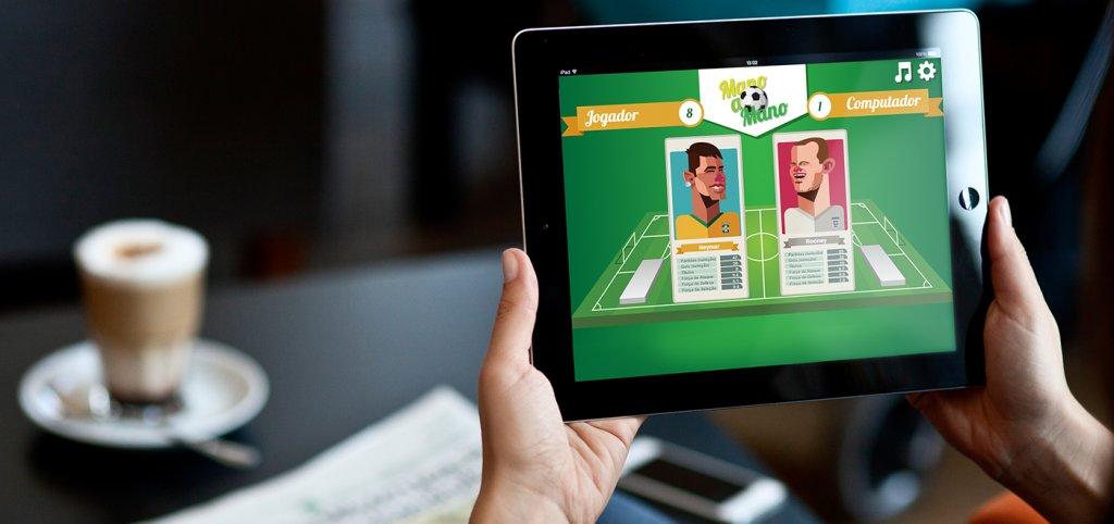 Дизайн футбольного приложения