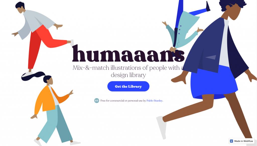 Конструктор иллюстраций Humaaans